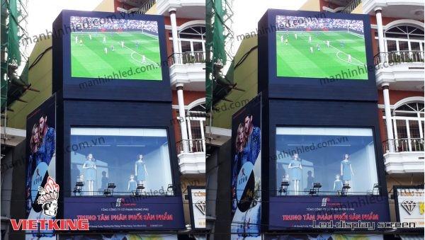 màn hình led outdoor cửa hàng phong phú nha trang