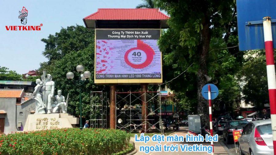 Vietking cung cấp lắp đặt màn hình led ngoài trời tại Hà Nội