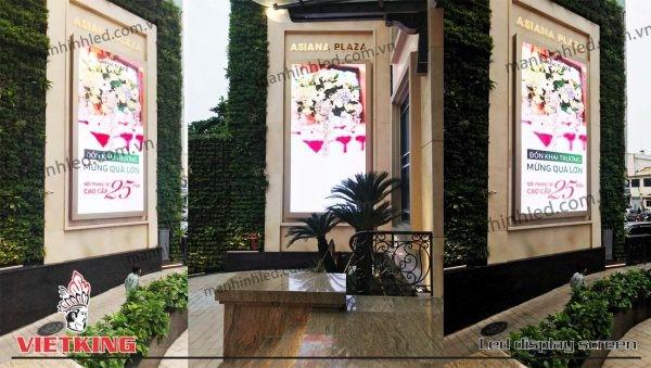 Màn hình LED P5 tiệc cưới tại Asiana Plaza
