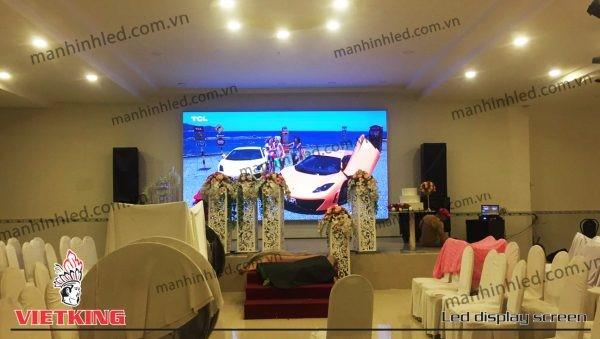 màn hình led p4 indoor nhà hàng