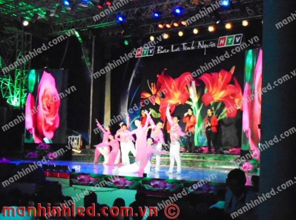 Màn hình LED P5 indoor show chương trình Bao la tình người