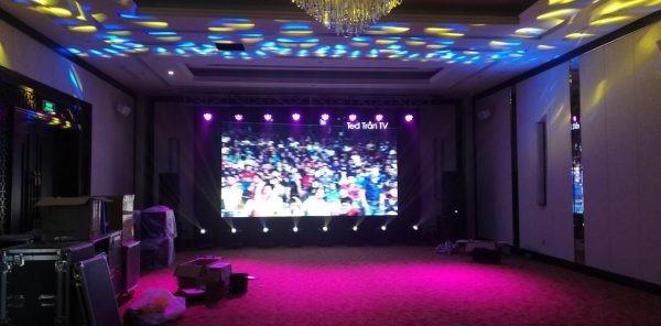 màn hình led p5 khách sạn bạch ngân