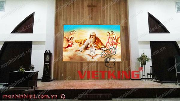 màn hình led show lòng thương xót của chúa giesu
