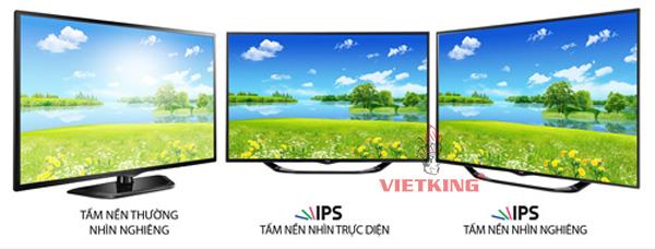 so sánh điểm khác nhau giữa màn hình led và ips