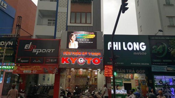 màn hình led outdoor thẩm mỹ viện kyoto