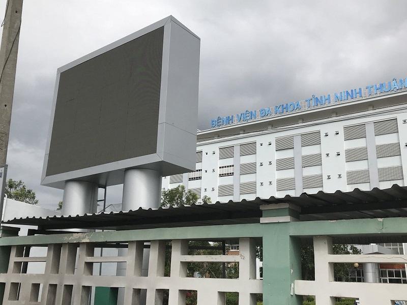 màn hình led p6 outdoor bệnh viện ninh thuận