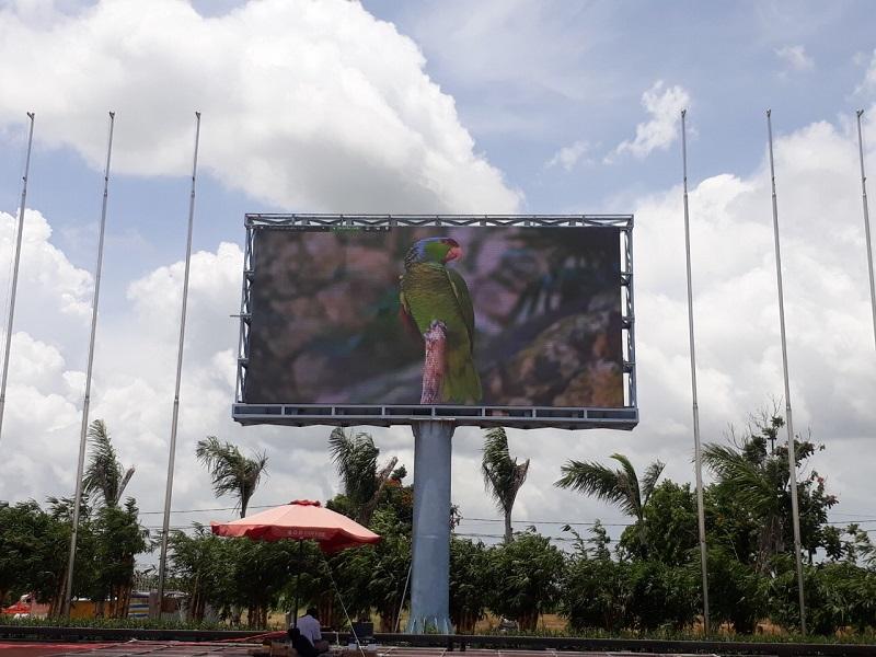 màn hình led p8 outdoor phòng văn hóa và thông tin lấp vò