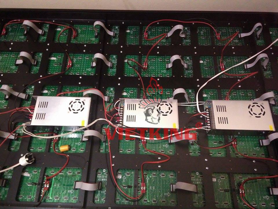 hệ thống mạch điện của màn hình led